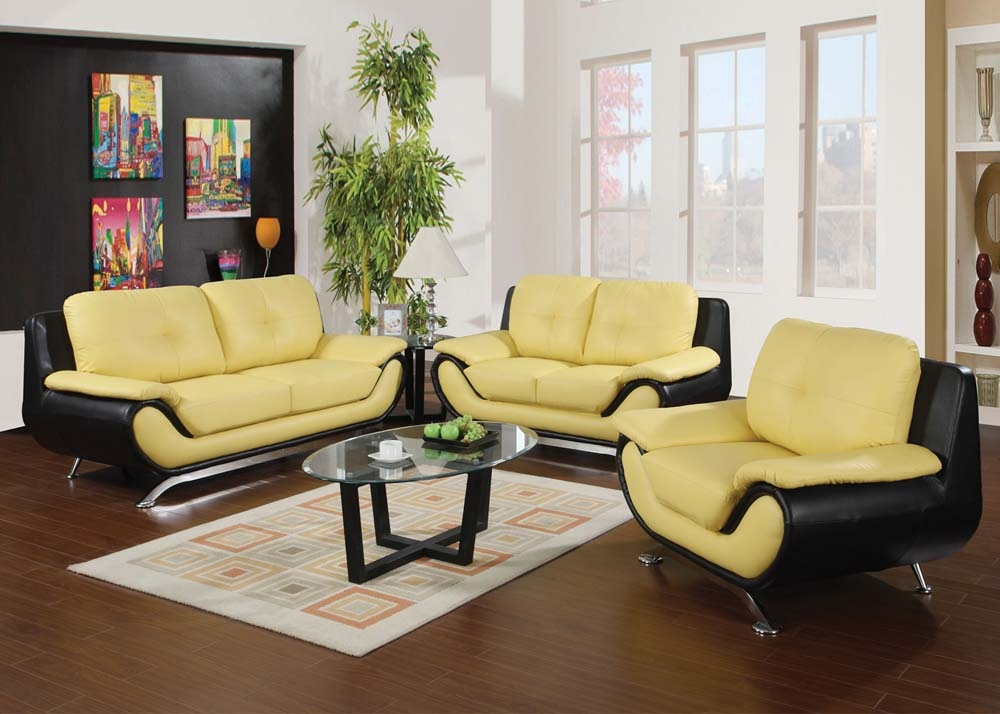 yellow living room set home design